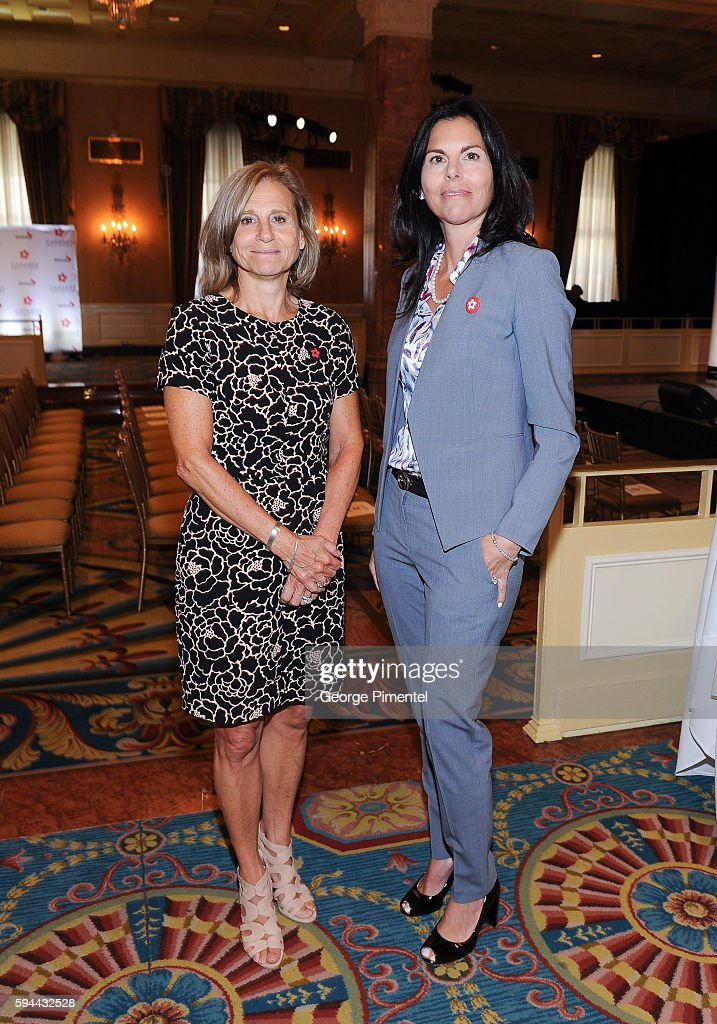 Barbara Williams Executive Vice President and Chief Operating Officer of Corus Entertainment and Maria Hale SVP Global Enterainment and Acquisitions...