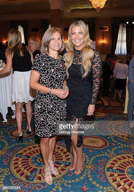 Barbara Williams Executive Vice President and Chief Operating Officer of Corus Entertainment and Cheryl Hickey Host Entertainment Tonight Canada...