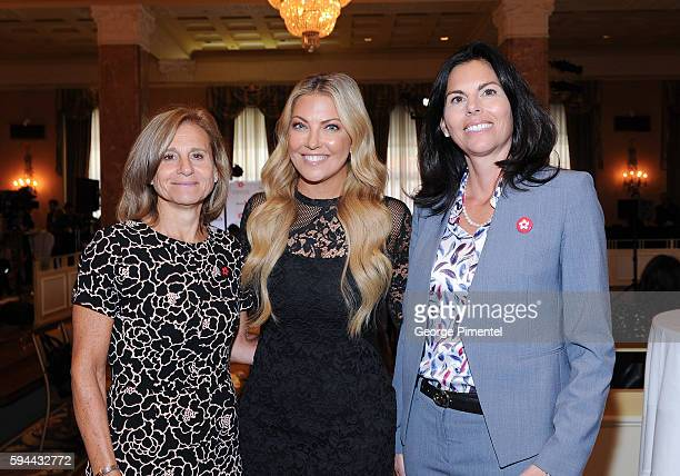 Barbara Williams Executive Vice President and Chief Operating Officer of Corus Entertainment Cheryl Hickey Host Entertainment Tonight Canada and...