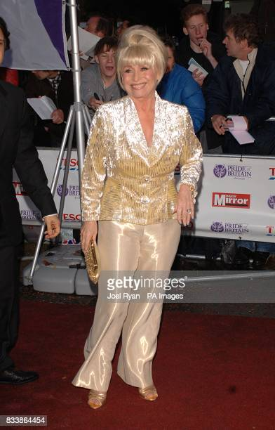 Barbara Windsor arrives for the Pride of Britain Awards 2007 The London Studios Upper Ground London SE1