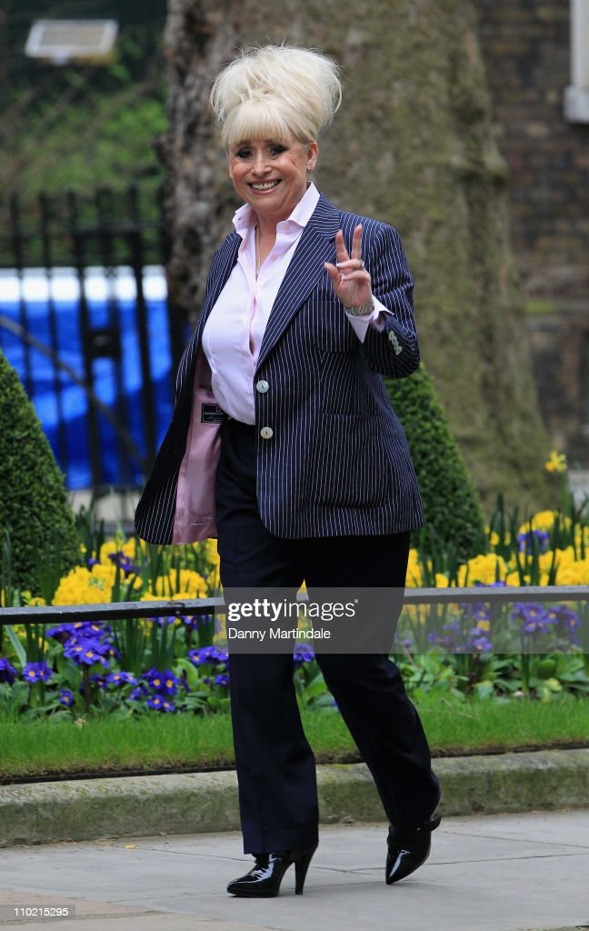 <a gi-track='captionPersonalityLinkClicked' href=/galleries/search?phrase=Barbara+Windsor&family=editorial&specificpeople=210539 ng-click='$event.stopPropagation()'>Barbara Windsor</a> attends reception to mark the centenary of International Women's Day at 10 Downing Street on March 16, 2011 in London, England.