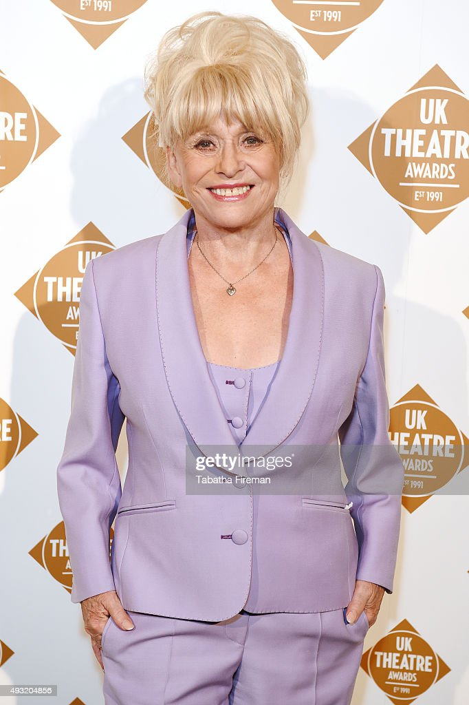 <a gi-track='captionPersonalityLinkClicked' href=/galleries/search?phrase=Barbara+Windsor&family=editorial&specificpeople=210539 ng-click='$event.stopPropagation()'>Barbara Windsor</a> attends the UK Theatre Awards 2015 at The Guildhall on October 18, 2015 in London, England.