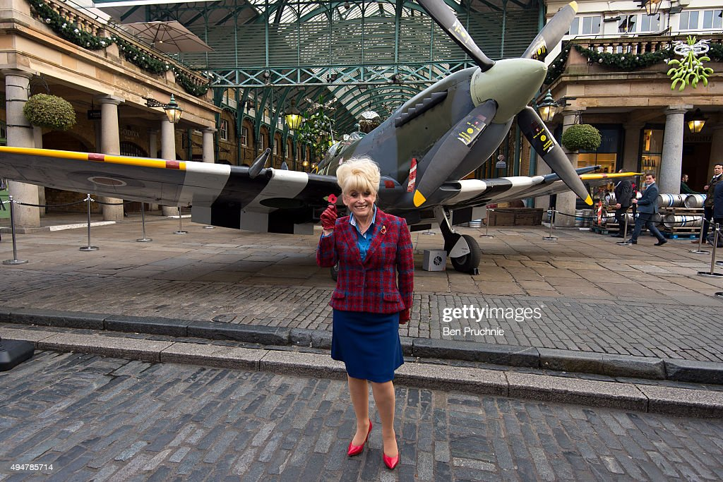 <a gi-track='captionPersonalityLinkClicked' href=/galleries/search?phrase=Barbara+Windsor&family=editorial&specificpeople=210539 ng-click='$event.stopPropagation()'>Barbara Windsor</a> poses with a poppy at the launch of the British Royal Legion's London Poppy Day on October 29, 2015 in London, England. Poppies have been used to commemorate soldiers who have died in conflict since 1914 and are distributed by the British Royal Legion in the UK in return for donations to the 'Poppy Appeal'.