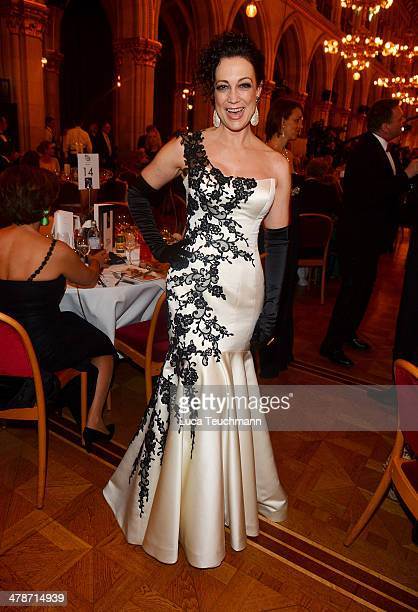 Barbara Wussow attends the 5th Filmball Vienna at City Hall on March 14 2014 in Vienna Austria