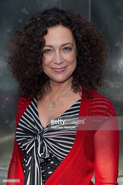Barbara Wussow attends the 'Jedermann' press conference and photocall at Grand Hotel Esplanade on September 8 2014 in Berlin Germany