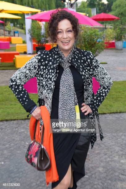 Barbara Wussow attends the producer party 2014 of the Alliance German Producer Cinema And Television on June 25 2014 in Berlin Germany