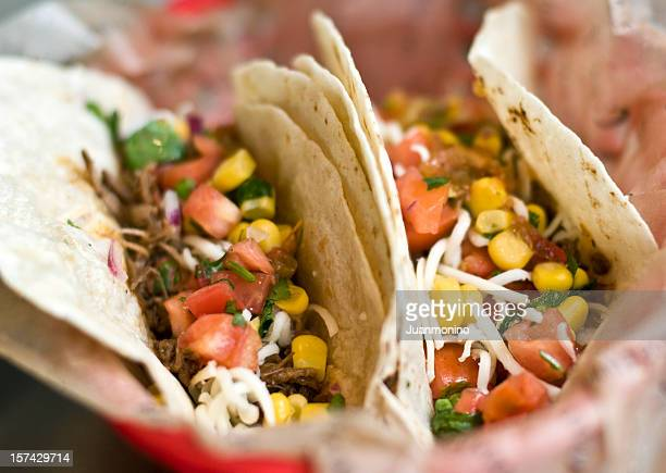 Barbecue Beef Tacos