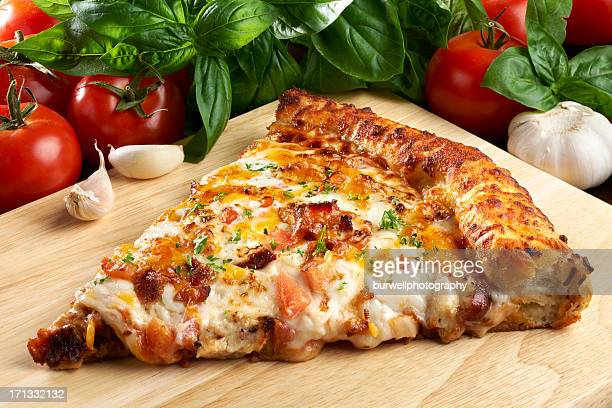 Barbecue Chicken PIzza mit Speck