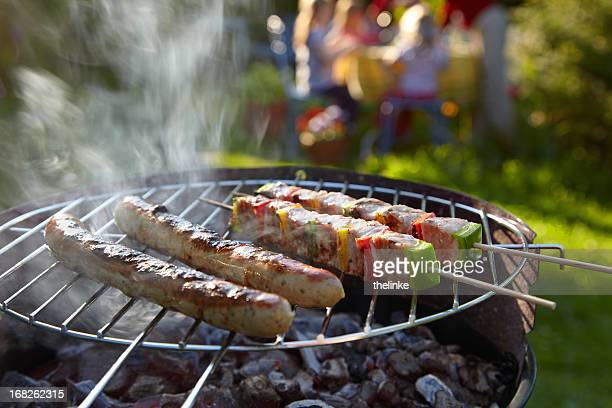 Barbecue on a summer evening