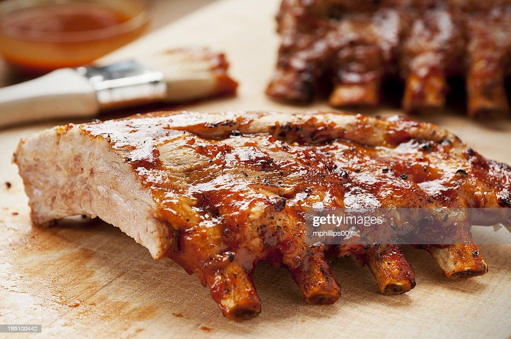 Barbecue Ribs : Stock Photo