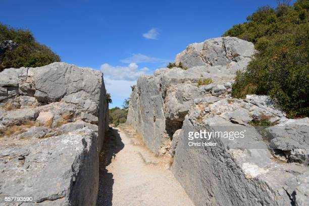 Barbegal Roman Aqueduct Fontvieille Provence
