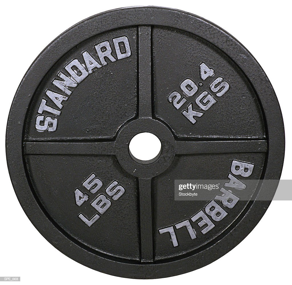 Barbell plate : Stock Photo