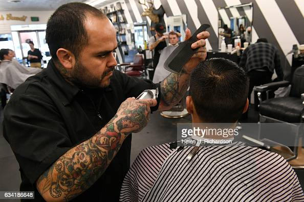Barber Shop Denver : ... Barber Shop at 3923 Tennyson street on January 31 2017 in Denver
