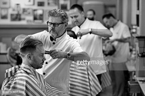 barbers at work