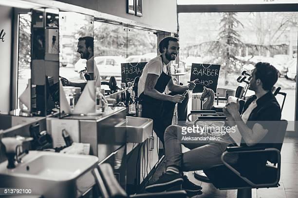 Barber's shop stories