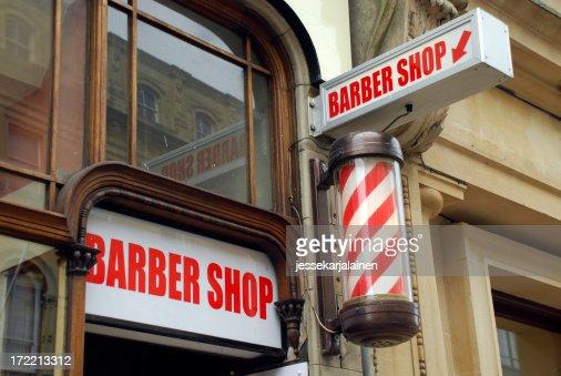 Barbershop and pole