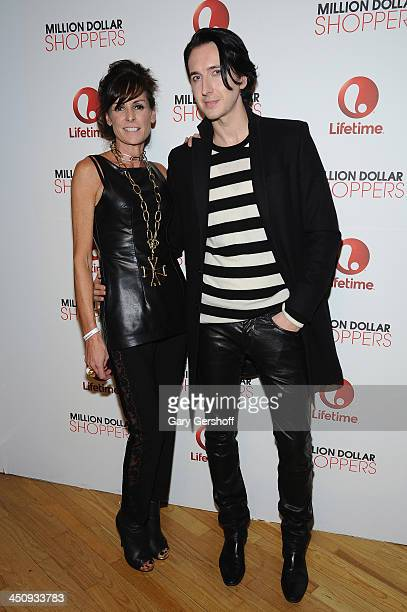 Barbet Smith and Dmitry Sholokhov attend the Housing Works 10th Annual Fashion For Auction Benefit on November 20 2013 in New York City