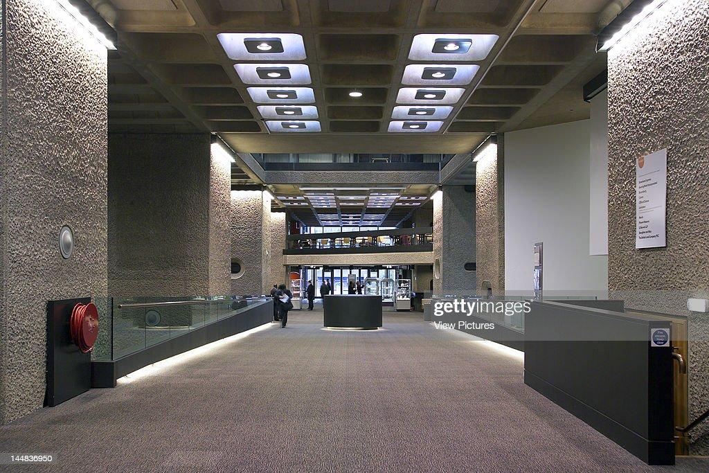 Barbican Centre Silk Street London Ec2 United Kingdom Architect Ahmm Allford Hall Monaghan Morris/ Chamberlin Powell And Bon The Barbican Centre Ahmm...