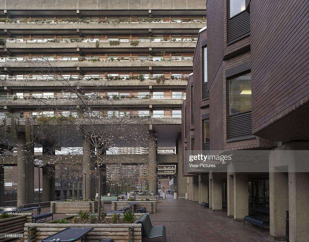 Barbican Estate 1982 Silk Street London Ec2 United Kingdom Architect Chamberlin Powell And Bon Barbican Centre Estate London 1982 Chamberlin Powell...