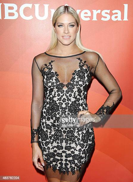Barbie Blank arrives at the NBCUniversal Press Tour 2015 day 1 held at The Beverly Hilton Hotel on August 12 2015 in Beverly Hills California