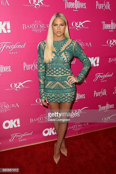 Barbie Blank arrives at the OK Magazine's So Sexy LA at the Skybar at Mondrian on May 18 2016 in West Hollywood California