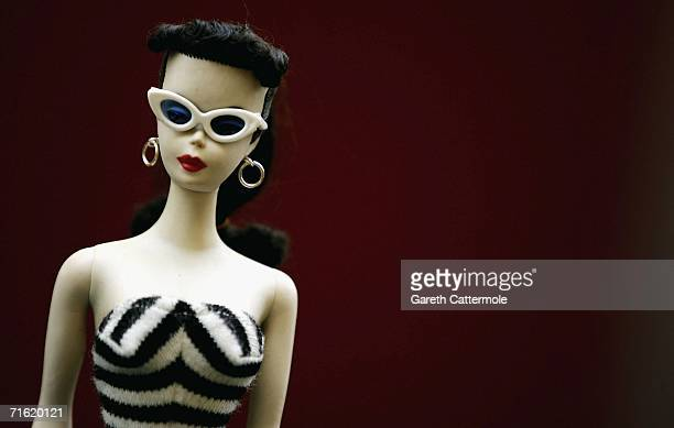 Barbie Doll forms part of what is thought to be the largest collection in the world at Christie's in South Kensington on August 10 2006 in London...