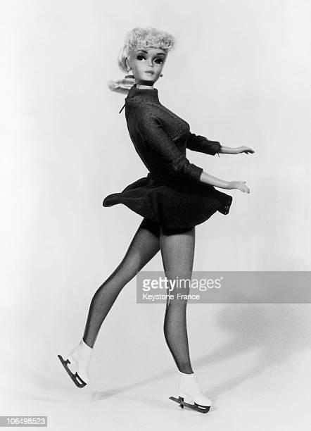 Barbie Doll In The Skates Lyon In 1963