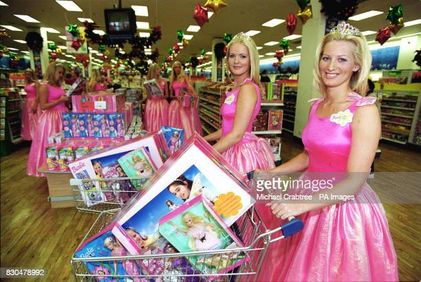 Barbie doll lookalikes were preparing to embark on a tour around the UK next week when they will meet thousands of fans during the school halfterm...