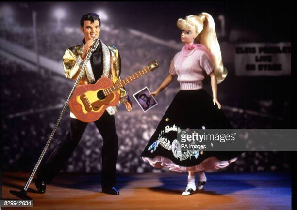 Barbie is teaming up with the King himself to mark the 20th anniversary of the death of Elvis PresleyThe special commemorative doll duo of Barbie and...