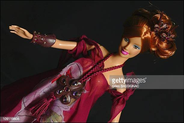Barbie Jewelry 2003 Collection To Be Sold By Auction To Benefit The French RedCross On December 11 2003 In Paris France Isa Parvex Barbie Clothes By...