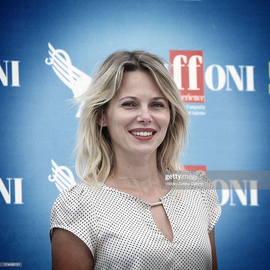 Barbora Bobulova attends 2013 Giffoni Film Festival photocall on July 25, 2013 in Giffoni Valle Piana, Italy.
