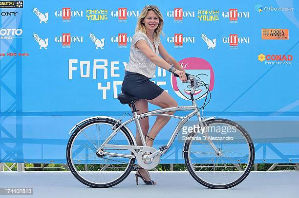 Barbora Bobulova attends 2013 Giffoni Film Festival photocall on July 25 2013 in Giffoni Valle Piana Italy