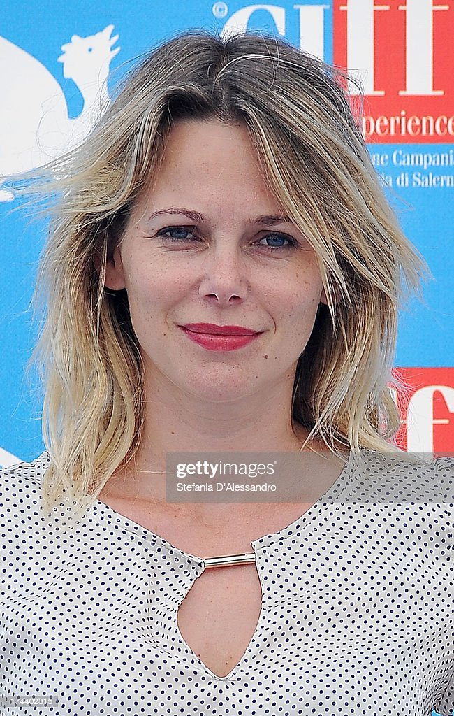 <a gi-track='captionPersonalityLinkClicked' href=/galleries/search?phrase=Barbora+Bobulova&family=editorial&specificpeople=226798 ng-click='$event.stopPropagation()'>Barbora Bobulova</a> attends 2013 Giffoni Film Festival photocall on July 25, 2013 in Giffoni Valle Piana, Italy.
