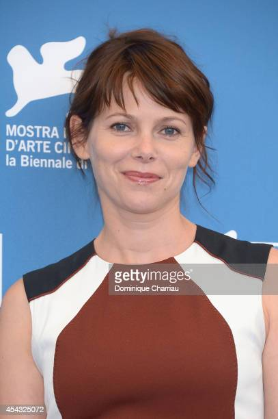 Barbora Bobulova attends 'Anime Nere' Photocall during the 71st Venice Film Festival on August 29 2014 in Venice Italy