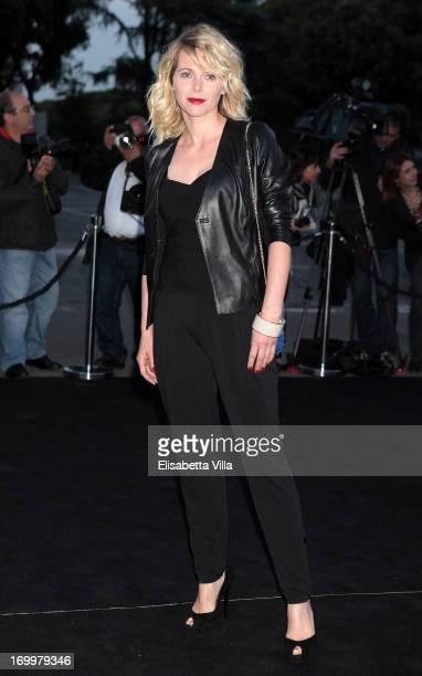 Barbora Bobulova attends 'One Night Only' Roma hosted by Giorgio Armani at Palazzo Civilta Italiana on June 5 2013 in Rome Italy