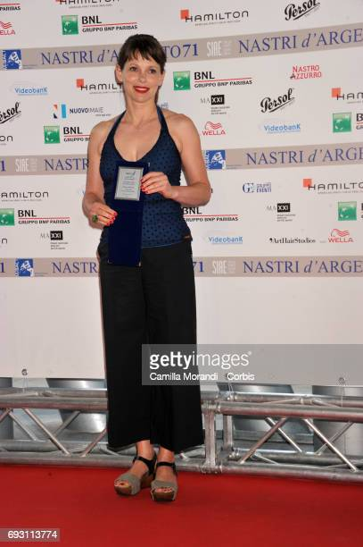Barbora Bobulova attends the nominees presentation of Nastri D'Argento at Maxxi Museum on June 6 2017 in Rome Italy