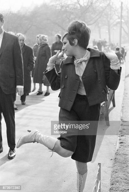 Barbra Streisand Actress and Singer Photocall London 20th March 1966