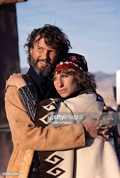 Barbra Streisand and Kris Kristofferson in A Star is Born