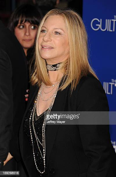 Barbra Streisand arrives at the 'The Guilt Trip' Los Angeles Premiere at Regency Village Theatre on December 11 2012 in Westwood California