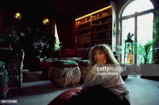 Barbra Streisand at Home