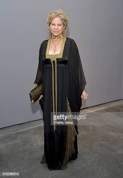 Barbra Streisand attends LACMA's 50th Anniversary Gala sponsored by Christie's at LACMA on April 18 2015 in Los Angeles California