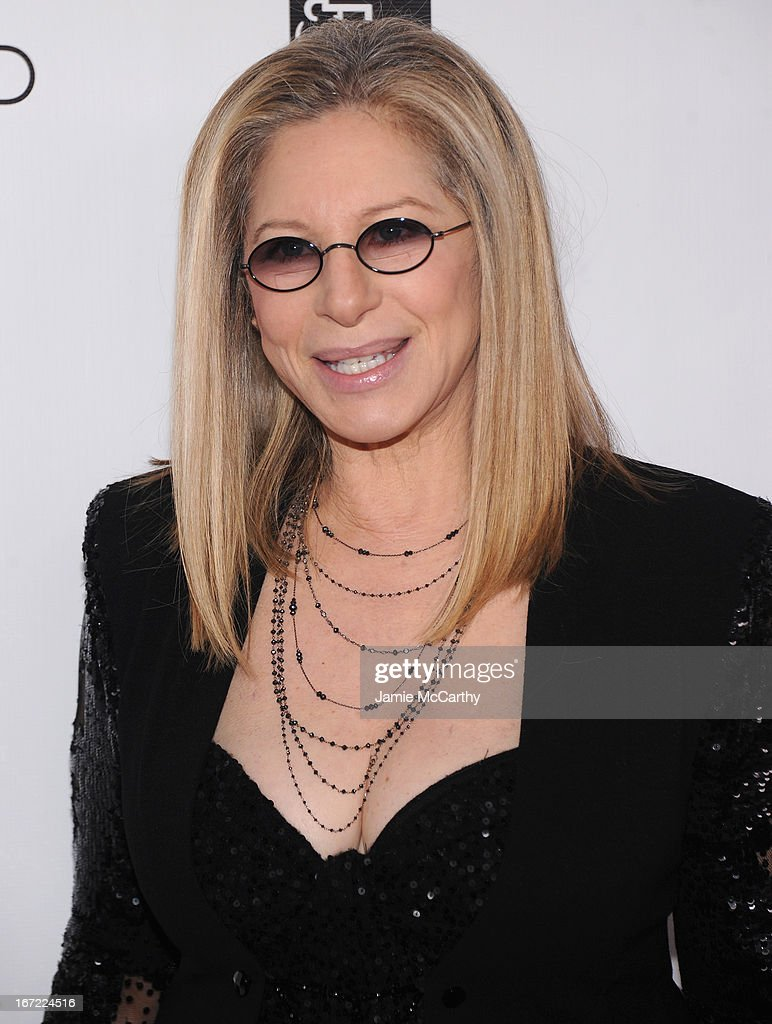 Barbra Streisand attends the 40th Anniversary Chaplin Award Gala at Avery Fisher Hall at Lincoln Center for the Performing Arts on April 22, 2013 in New York City.