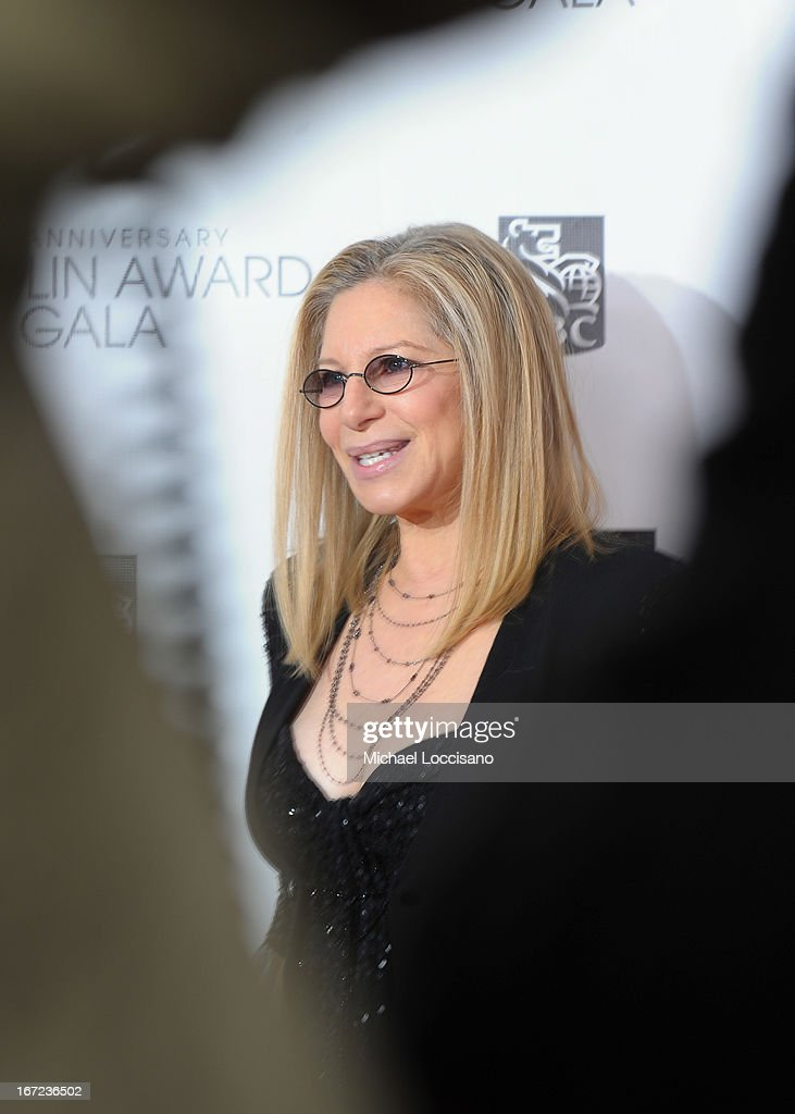 <a gi-track='captionPersonalityLinkClicked' href=/galleries/search?phrase=Barbra+Streisand&family=editorial&specificpeople=200745 ng-click='$event.stopPropagation()'>Barbra Streisand</a> attends the 40th Anniversary Chaplin Award Gala at Avery Fisher Hall at Lincoln Center for the Performing Arts on April 22, 2013 in New York City.