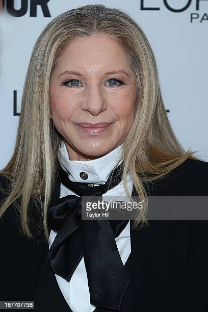 Barbra Streisand attends the Glamour Magazine 23rd annual Women Of The Year gala on November 11 2013 in New York United States
