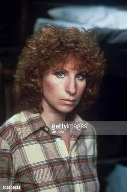 Barbra Streisand closeup circa 1970 New York