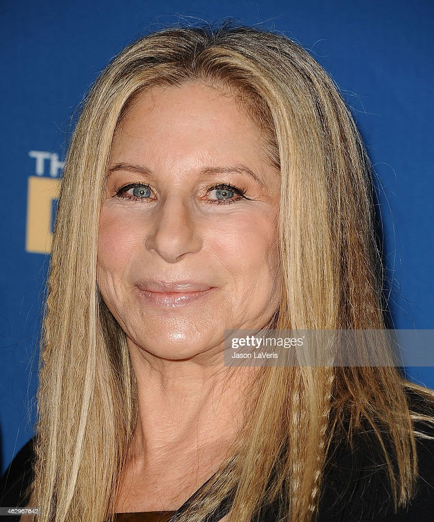 Barbra streisand poses in the press room at the 67th annual directors