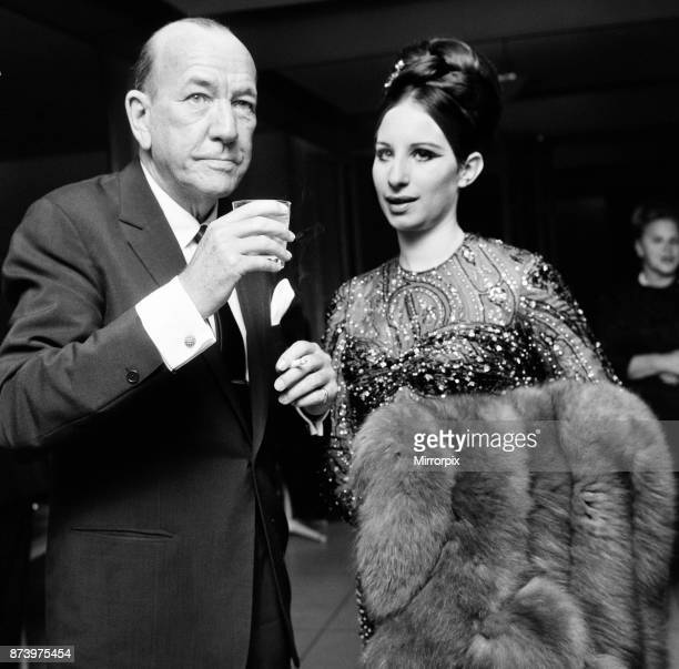 Barbra Streisand Reception at American Embassy after benefit performance at the embassy theatre Grosvenor Square London Sunday 12th June 1966 The...