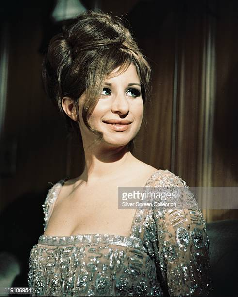 Barbra Streisand US actress and singer in a publicity still issued for the film 'Funny Girl' USA 1968 The 1968 film musical directed by William Wyler...