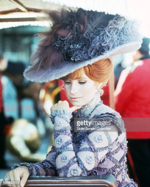 Barbra Streisand US actress and singer wearing period costume in a publicity still issued for the film 'Hello Dolly' USA 1969 The 1969 film musical...
