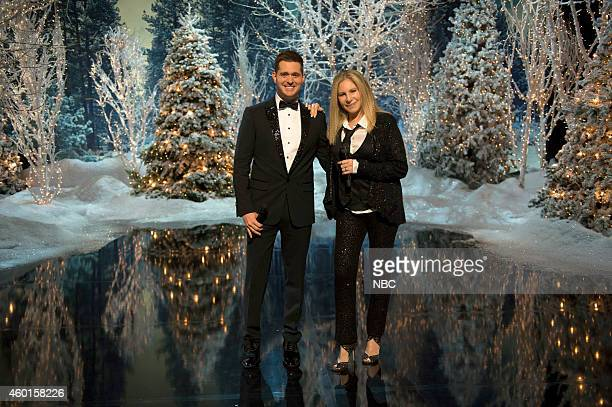 S CHRISTMAS IN NEW YORK 'Barbra/Michael Duet' Pictured Michael Buble Barbra Streisand